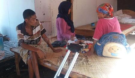Cerita Nestapa Nenek Tulang Punggung Keluarga