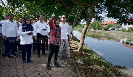 Sidak Akhir Pekan Wali Kota Surabaya