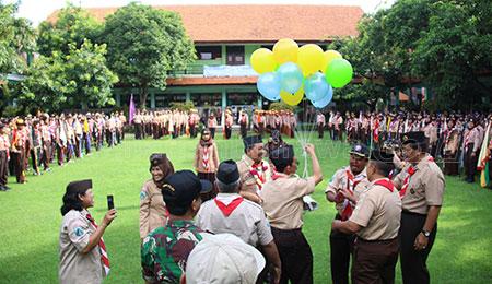 SMK Negeri 2 Buduran Gelar Scampy V 2019