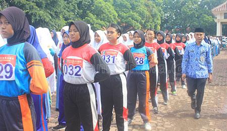 862 Pelajar SMA Seleksi Paskibra Se-Sidoarjo