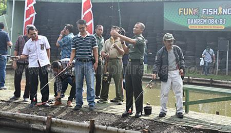 Cara Unik Korem 084 Bhaskara Jaya Jalin Sinergitas dengan Insan Media