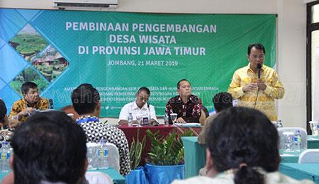 Anggota DPR Beri Pelatihan Desa Wisata di Jombang