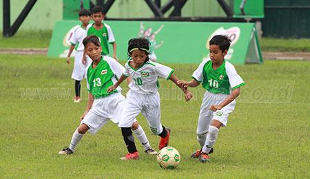 Gol Haidar Antar SDN Bandung Rejosari 1 Malang Juara