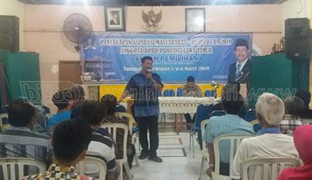 Reses, DPRD Jatim Sosialisasi Pendidikan Gratis SMA/SMK