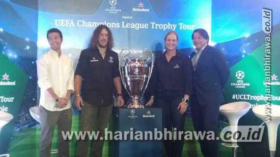 Heineken Ajak Fans Surabaya Lihat Langsung Trofi Liga Champions