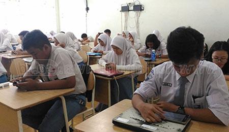 Kekurangan Komputer, Sekolah Gunakan Tiga Sesi