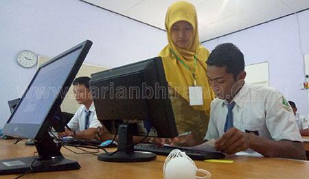 3.461 Siswa SMA di Tuban Ikuti UNBK