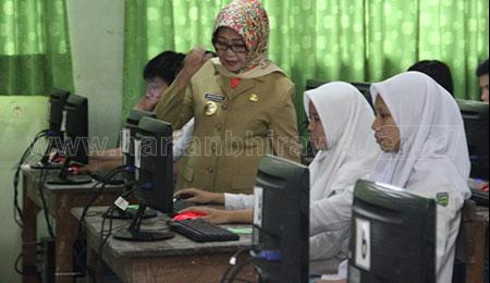 UNBK Hari Pertama, Satu Siswa Kabupaten Jombang Dilaporkan Sakit