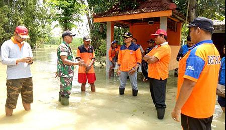 BPBD Pastikan Banjir di Mojokerto dan Gresik Surut