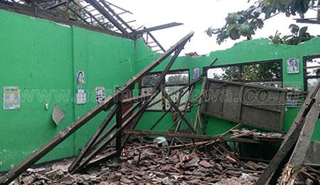Sekolah Rusak di Nganjuk Capai 178 Gedung