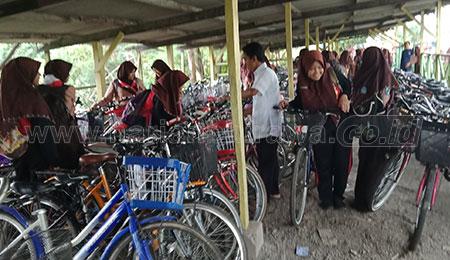 Siswa SMP/MTs Dilarang Gunakan Sepeda Motor