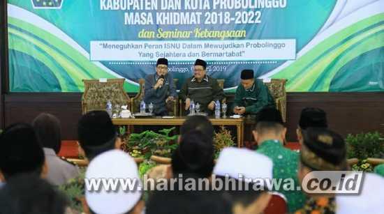 Pengurus ISNU Probolinggo Dilantik,Komitmen Dukung Pembangunan