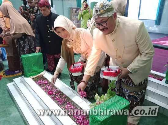 Wabup Irwan dan Forkopimda Ziarah ke Makam Ki Ronggo