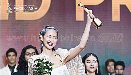 Putri Pegawai BUMD Jatim, Juara Umum Face of Asia 2019 di Korea