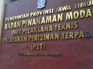 Tiga Bidang Perizinan Gantikan UPT P2T