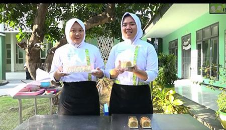 Siswa SMKN 1 Buduran Ciptakan 'Exotic Batari Cake'