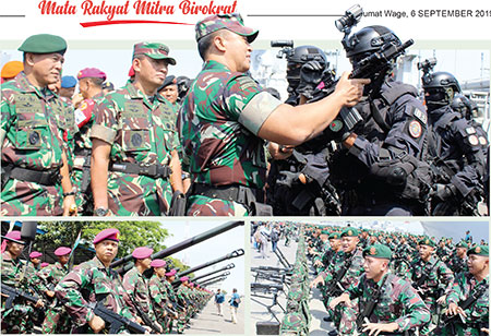 Latgab TNI 2019, Siap Tegakkan Kedaulatan dan Keutuhan NKRI