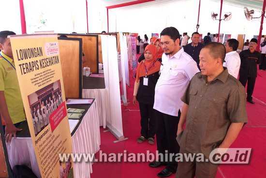 Ribuan Pencari Kerja Banjiri Job Fair Kota Pasuruan