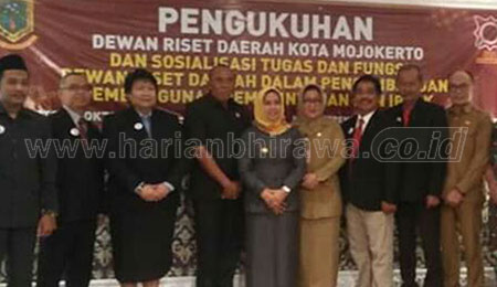 Wali Kota Kukuhkan DRD Kota Mojokerto