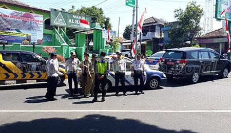Dishub Jatim Lakukan Rekayasa Lalin Jalan Provinsi di Magetan