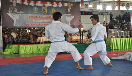 Karate Provinsi Jawa Timur Raih Tiket PON XX Papua 2020