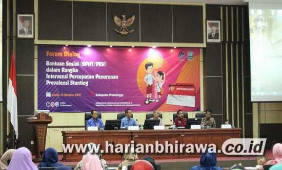Cegah dan Turunkan Stunting, Pemkab Probolinggo Bentuk Forum Dialog