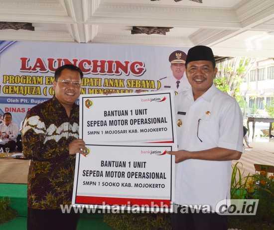 Launching Program Emas dan Gemmajuzza Dinas Pendidikan Kabupaten Mojokerto