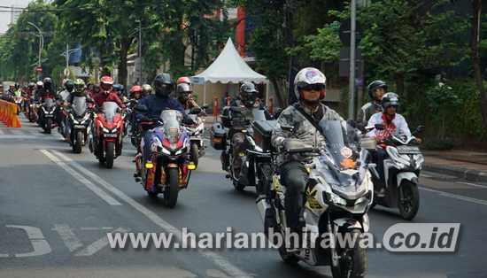 MPM Konsumen Honda ADV150 Gelar Turing di Provinsi Jawa Timur