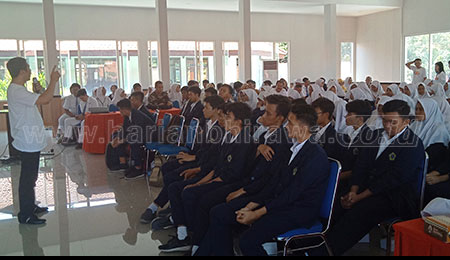 Kejari Sidoarjo Keliling Sekolah Cegah Anti Korupsi Sejak Dini
