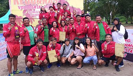 Tim Putra Jatim Borong Juara