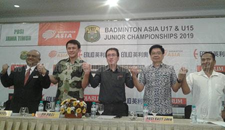 Atlet Terbaik Asia Bersaing di Badminton U-17 dan U-15