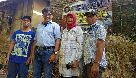 Dosen UB Olah Limbah Tempe Jadi Biogas dan Pakan Ternak