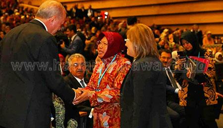 Dipuji Presiden Erdogan Sebagai Wanita Inspiratif hingga Ceritakan Bonek