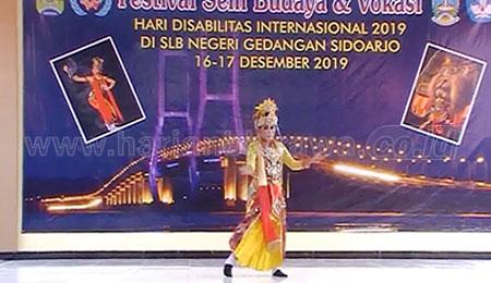 SLBN Gedangan Gelar Festival Seni Budaya