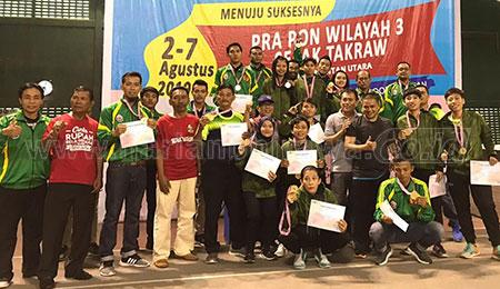 Alumni SMANOR Perkuat Kontingen PON Jatim