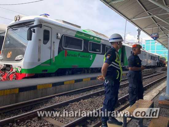 Jelang Natal dan Tahun Baru, PT KAI Inspeksi Jalur Kereta Api
