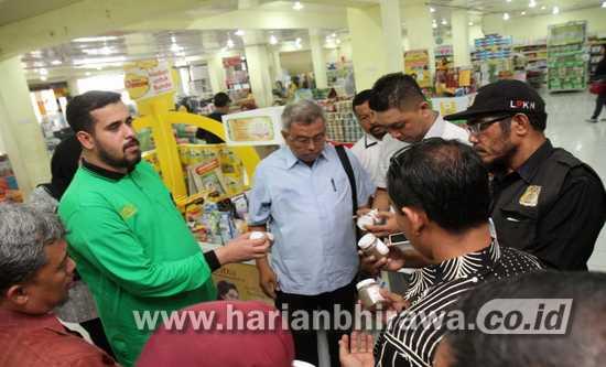 Wali Kota Probolinggo Hadi Zainal Sidak Supermarket dan Pertokoan
