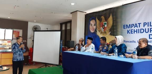 Dra Lucy Kurniasari: Demokrasi, HAM, dan Kebebasan Harga Mati Bagi Indonesia
