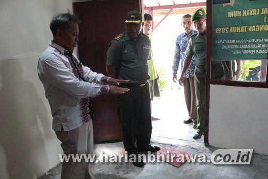 Tim Wasev Kodam V Brawijaya Tinjau Rutilahu di Kabupaten Lamongan