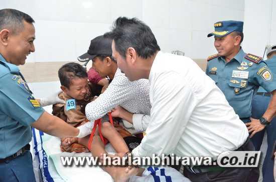 Pemkab Gresik – Lantamal V Surabaya Geler Operasi Katarak