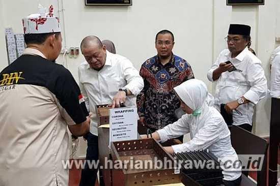 Ketua DPD RI LaNyalla Mahmud Mattalitti Resmikan Pabrik Cerutu