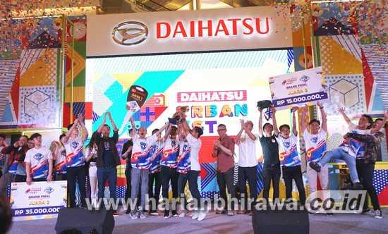 Daihatsu Urban Fest Sukses Warnai Weekend Milenial di Lima Kota Besar