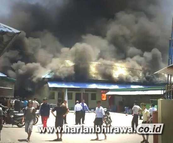 Diduga Akibat Arus Pendek Listrik, Kampus 2 Pondok Gontor Ponorogo Terbakar