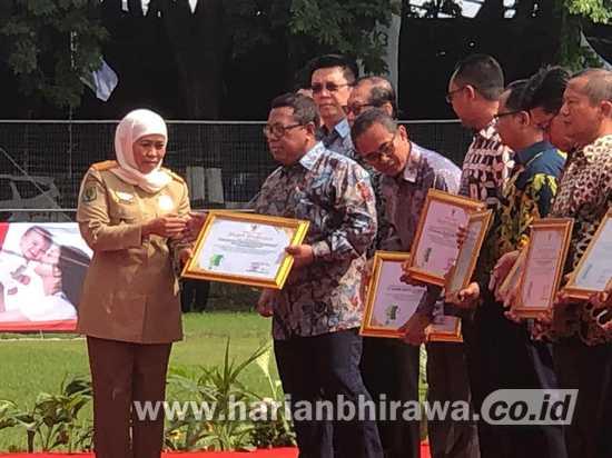 PEPC Raih Penghargaan Zero Accident dari Pemprov Jatim