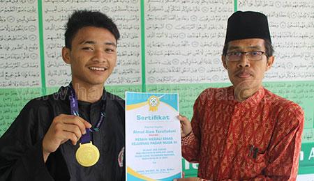 Siswa SMK Unggulan NU Mojoagung Sabet Juara I Kejurnas Silat Pagar Nusa