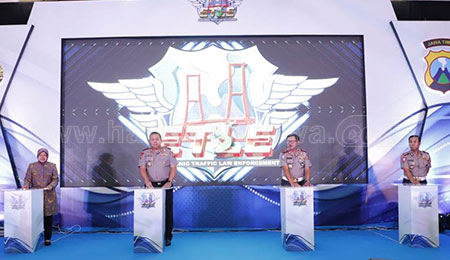 Jadi Pilot Project, Surabaya Resmi Terapkan e-Tilang