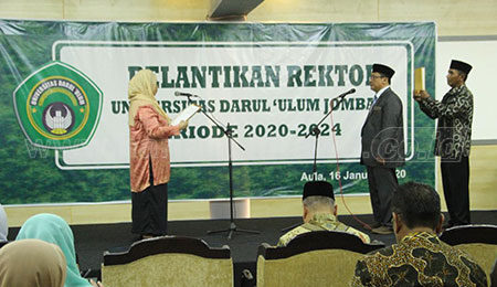 Amir Maliki Dilantik Menjadi Rektor Undar Jombang