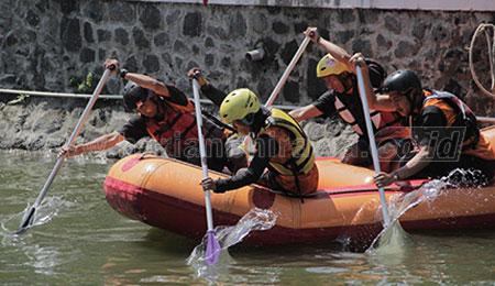 Lomba Balap Perahu Karet Antar SMA Digelar April Mendatang
