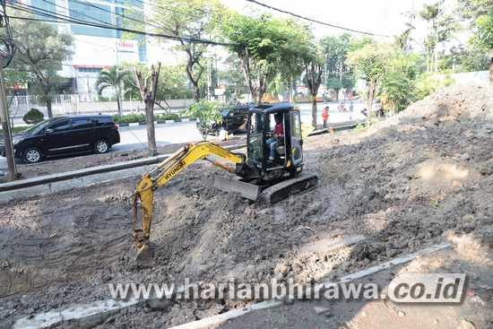 Pemerintah Kota Surabaya Bangun Mini Bosem di Depan TVRI