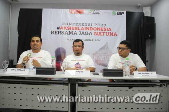 Sikap ACT 'Aksi Bela Indonesia Natuna Memanggil'